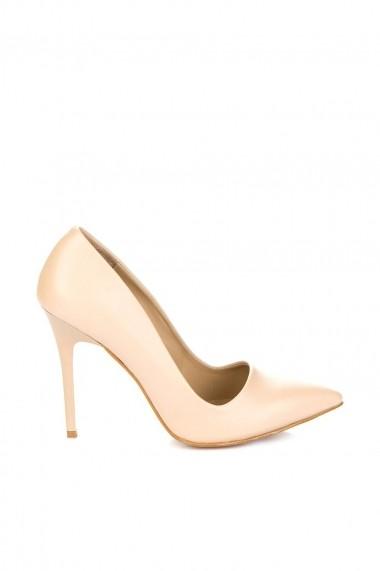 Pantofi cu toc Fox Shoes 8922151909 Maro