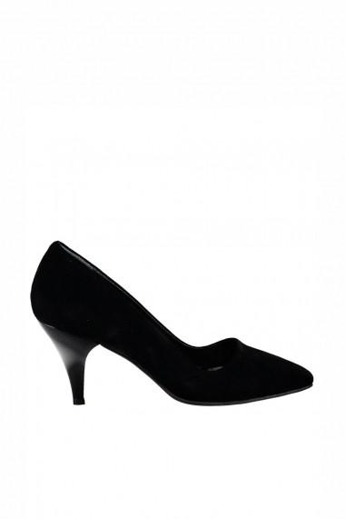 Pantofi cu toc Fox Shoes A922151102 Negru