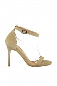 Pantofi cu toc Fox Shoes B922112602 Maro