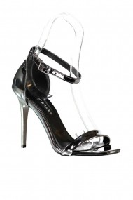 Pantofi cu toc Fox Shoes B922112634 Argintiu
