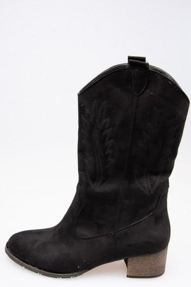 Ghete Fox Shoes E267730002 Negru