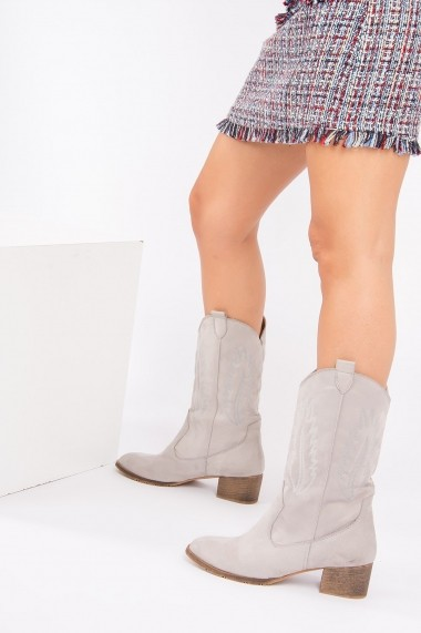 Ghete Fox Shoes E267730002 Gri
