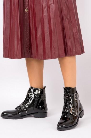 Ghete Fox Shoes G288049908 Negru