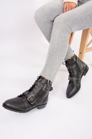 Ghete Fox Shoes G288049909 Negru - els