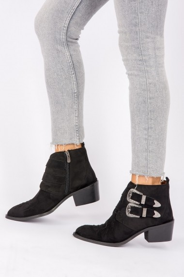 Ghete Fox Shoes G292650602 Negru