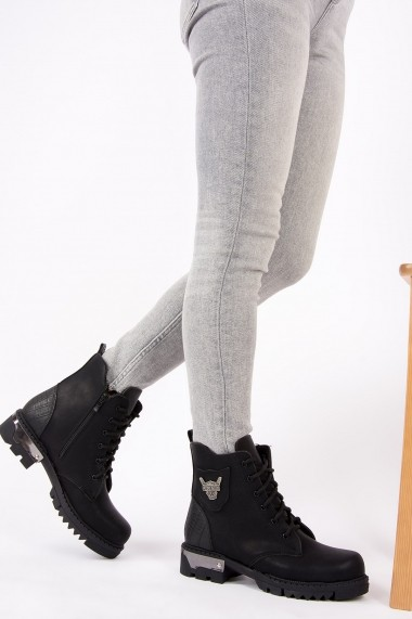 Ghete Fox Shoes G328799009 Negru