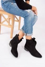 Fox Shoes Bakancs OYO-G518698802-Black Fekete