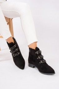 Ghete Fox Shoes G563178202 Negru