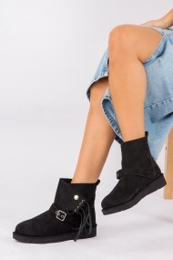 Ghete Fox Shoes G973030502 Negru - els