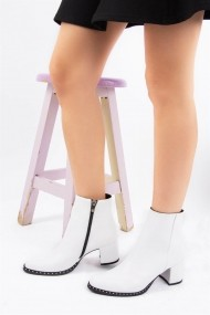 Botine Fox Shoes C654013309 Alb
