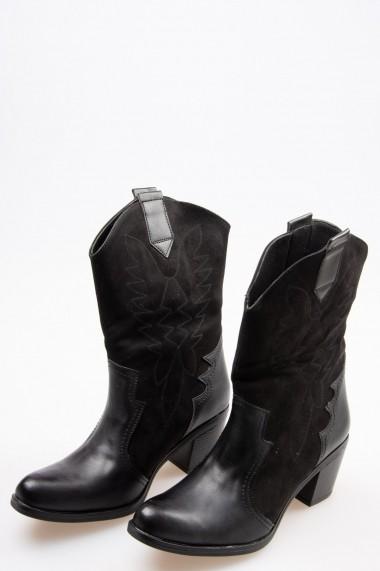 Botine Fox Shoes G641374045 Negru