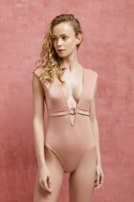 Бански костюм AQUELLA OYO-337-244-Pink Розов