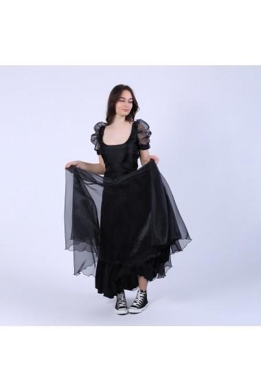 Bluza Maruca W10573 organza neagra