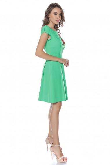 Rochie de zi midi Lille Couture Ana Verde