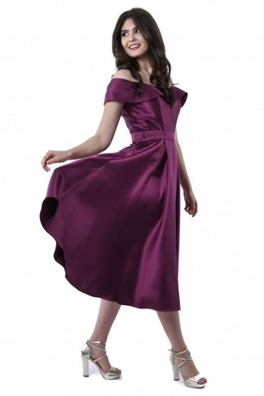 Rochie de seara midi Lille Couture Gianina Mov