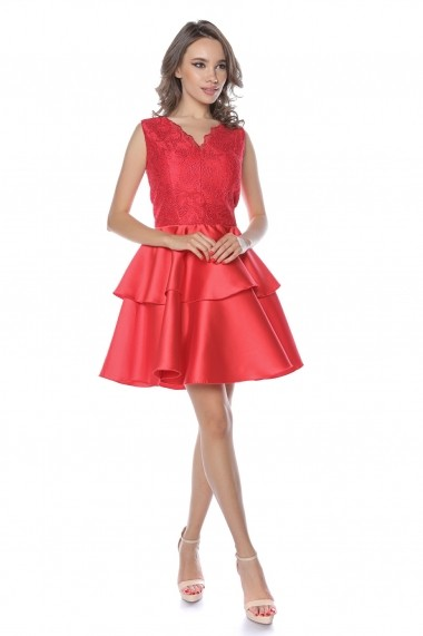 Rochie de seara midi Lille Couture Rosie