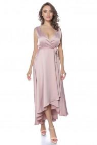 Rochie de seara midi Lille Couture Roz pal