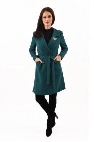 Pardesiu stofa Lille Couture Eliza verde