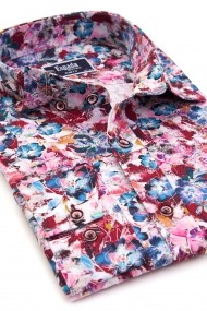 Camasa ESPADA MEN`S WEAR 9830-32 slim fit print Floral