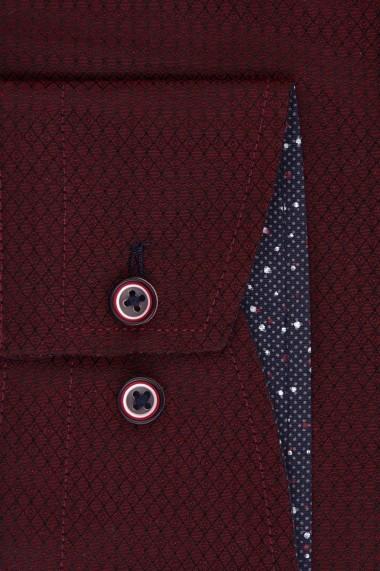 Camasa ESPADA MEN`S WEAR 4452018-7 bordo