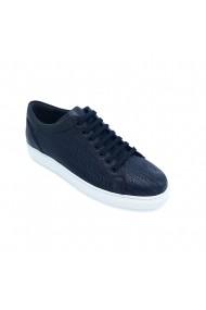 Pantofi piele naturala Torino 3345 bleumarin