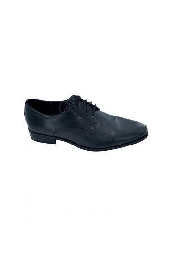 Pantofi din piele Torino 346 negri