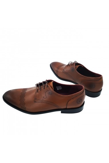 Pantofi din piele Torino 700 maro