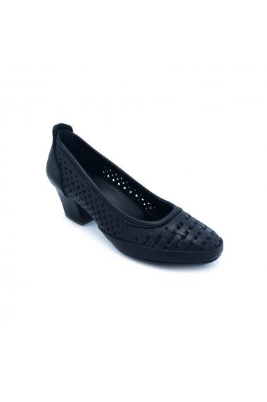Pantofi piele naturala Torino 1953 negri