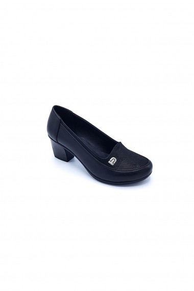 Pantofi piele naturala Torino 22 negri