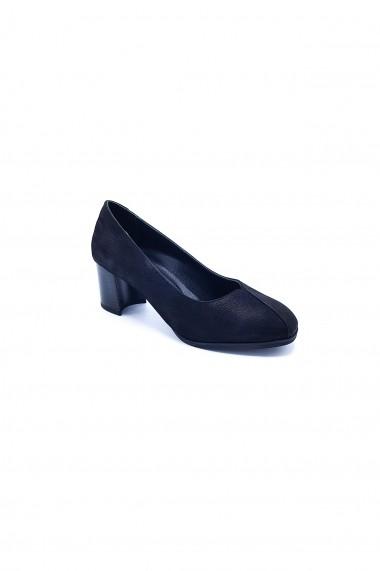 Pantofi piele naturala Torino 232 negri