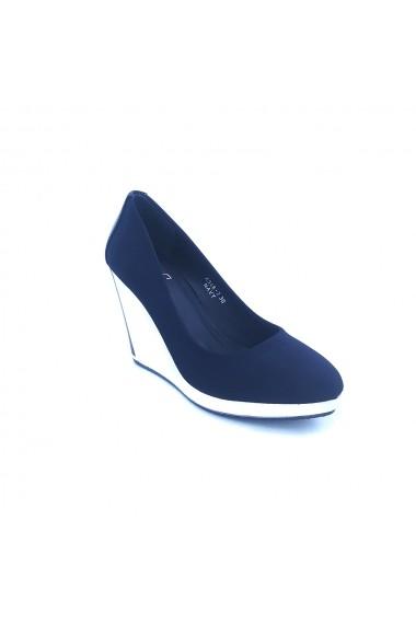 Pantofi cu platforma Torino 346-2 Bleumarin