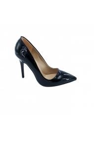 Pantofi cu toc Torino 195-01 Negri