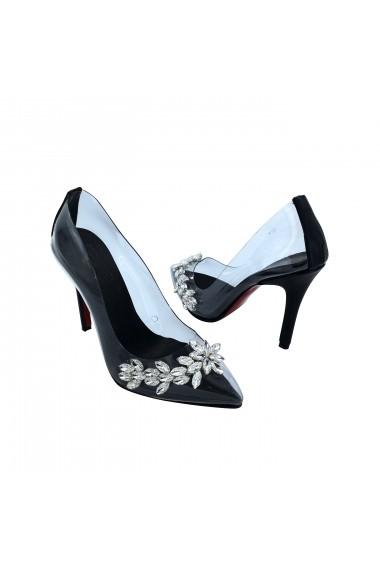 Pantofi cu toc Torino T-033 Transparenti