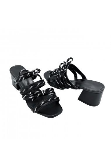 Papuci Torino T-017 Negri