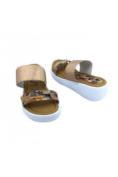 Papuci Torino T-028 Multicolori
