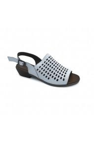 Sandale piele naturala Torino 1114 albe