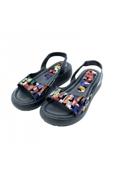 Sandale plate Torino T-027 Multicolore