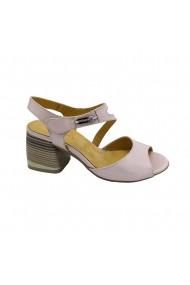 Sandale piele naturala Torino 1100-96 roz sidef