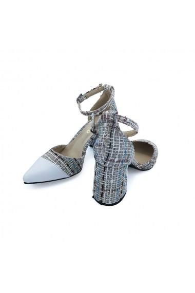 Pantofi cu toc Torino 119-15 Multicolor
