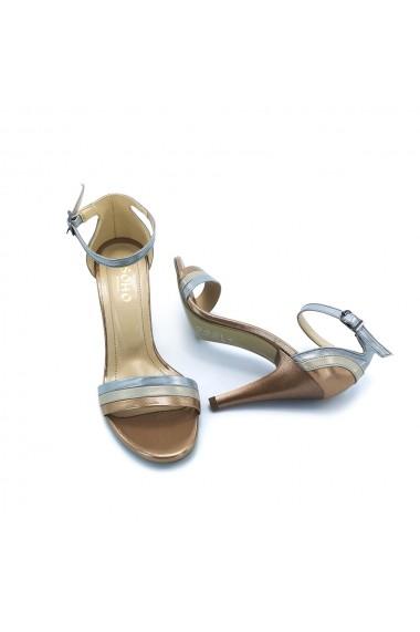 Sandale piele ecologica Torino 789 aramii