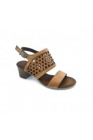 Sandale piele naturala Torino 954 maro
