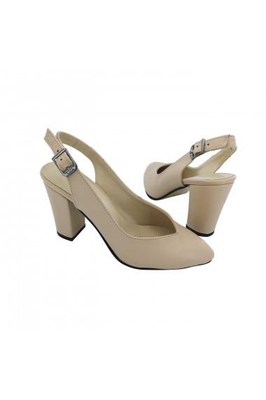Sandale cu toc Torino 1340 Bej
