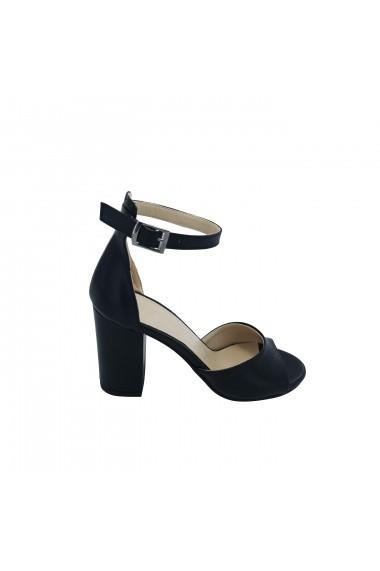 Sandale cu toc Torino 1380 Negre