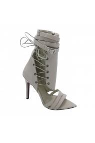 Sandale cu toc Torino T-03 Bej