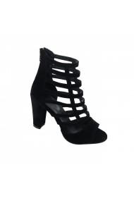 Sandale cu toc Torino T-04 Negre