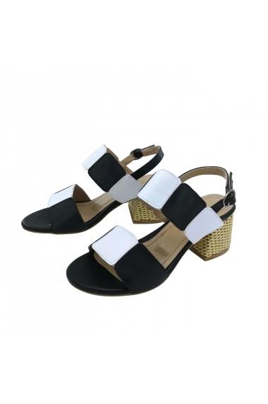 Sandale cu toc Torino T-019 Multicolore