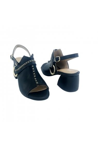 Sandale cu toc Torino T-021 Negru
