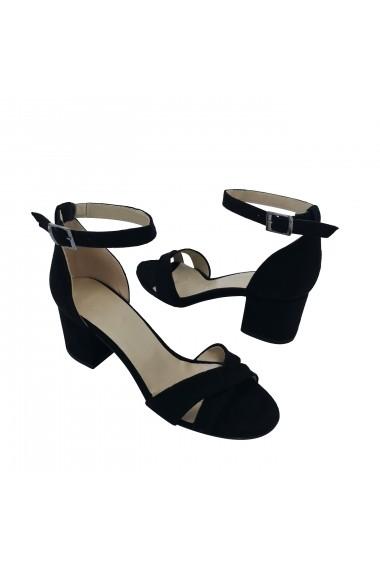 Sandale cu toc Torino 1230-03 Negre
