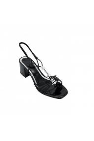Sandale cu toc Torino T-018 Negre