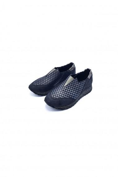 Pantofi piele naturala Torino 700 negri
